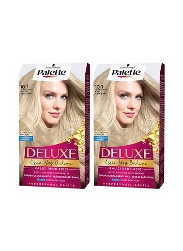 Palette Palette Deluxe 10-1 Küllü Açık Sarıx 2 Paket Renkli